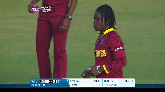 Deandra Dottin, 3-16 for WI V IND ICC Womens WT20 2016