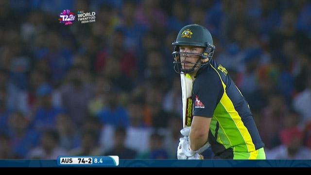 Aaron Finch Innings for Australia V India Video ICC WT20 2016