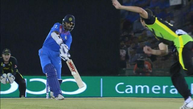 Shikhar smashes one for Six!