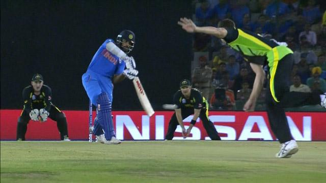 India Innings Super Shots v AUS ICC WT20 2016