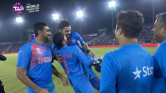 Match highlights – IND v AUS