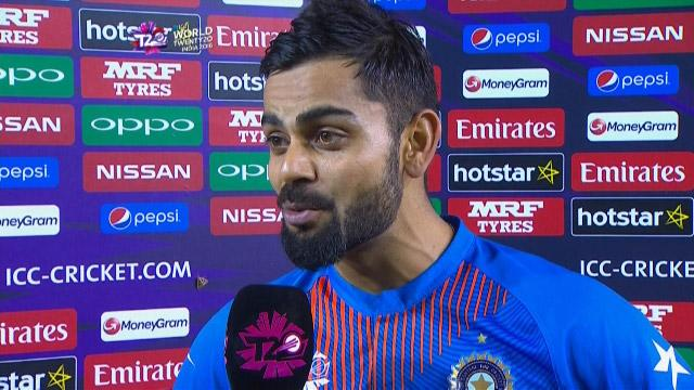 Player of the Match – Virat Kohli – IND v AUS