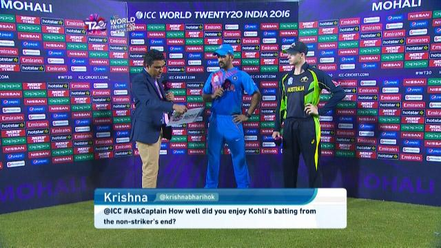 Dhoni answers #AskCaptain after India's win over Australia