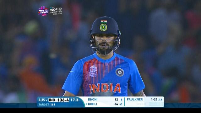Virat Kohli smashes 32 off his last 11 balls to guide India home