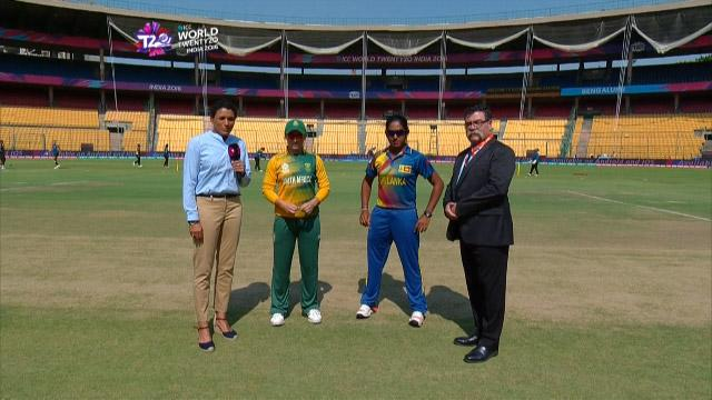Sri Lanka wins Toss against South Africa Match 20 ICC Womens WT20 2016