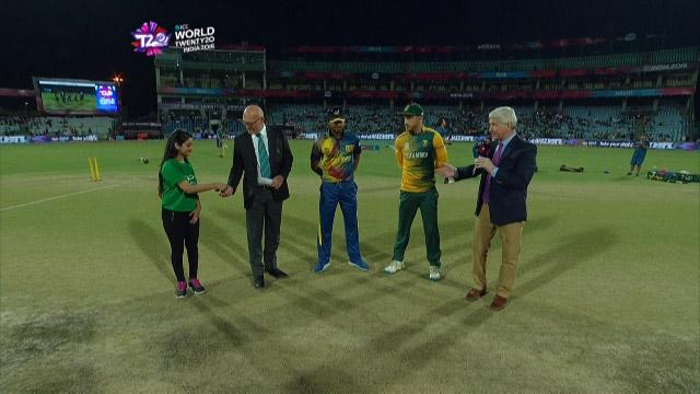South Africa wins Toss against Sri Lanka Match 32 ICC WT20 2016