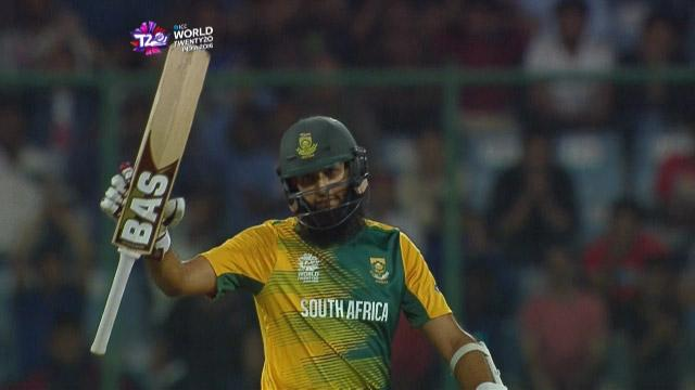 Hashim Amla Innings for South Africa V Sri Lanka Video ICC WT20 2016