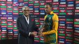 Player of the Match – Aaron Phangiso – SA v SL