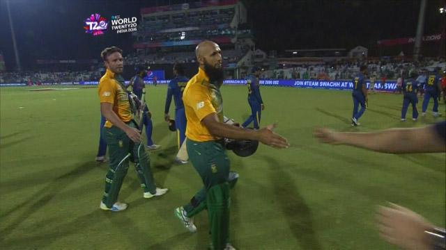 Match highlights – SA v SL