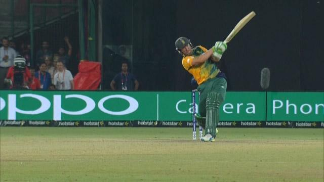 AB De Viliers seals the win in perfect way for SA