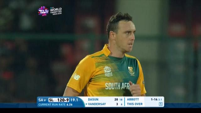Kyle Abbott's demolition job