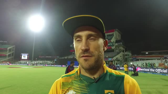Du Plessis Hints At Future Changes For South Africa