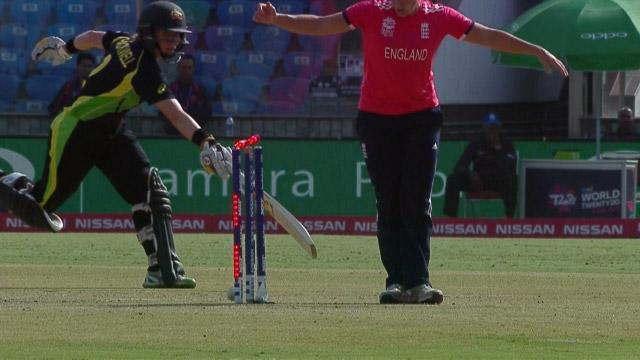 Sciver's excellent throw dismisses Blackwell