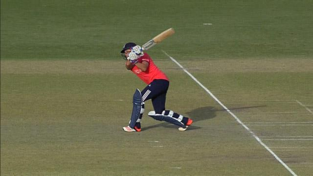 England Innings Super Shots V AUS ICC Womens WT20 2016