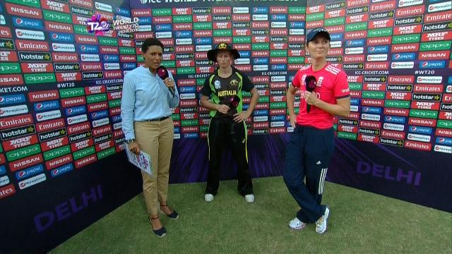 Match Presentation for AUS V ENG Match 21 ICC Womens WT20 2016