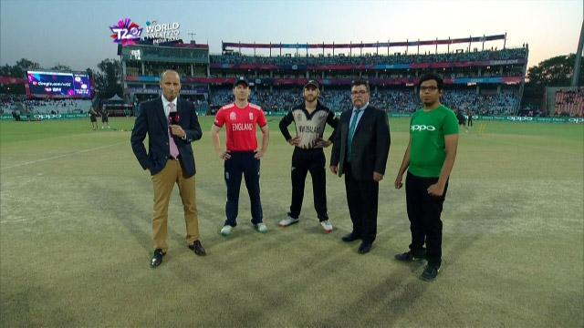 England wins Toss against New Zealand Match 33 ICC WT20 2016