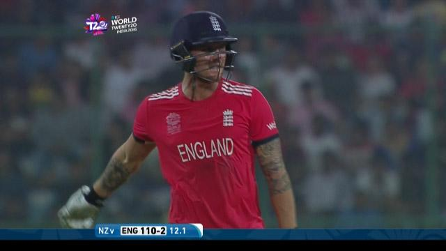 Jason Roy Wicket Fall ENG V NZ Video ICC WT20 2016