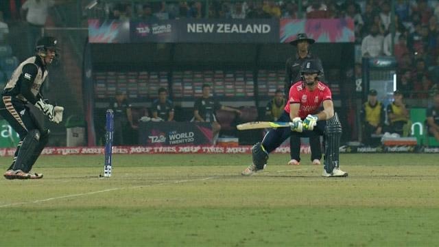 Jos Buttler Innings for England V New Zealand Video ICC WT20 2016