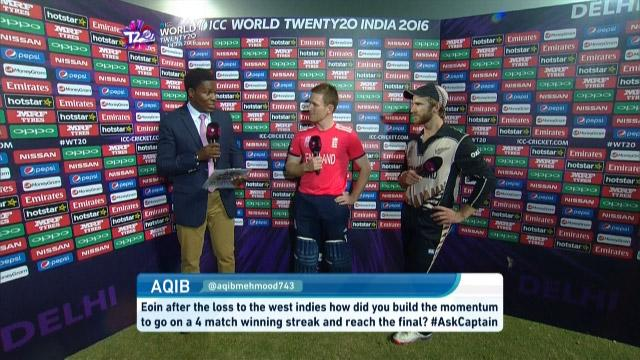 Eoin Morgan answers #AskCaptains after winning against New Zealand