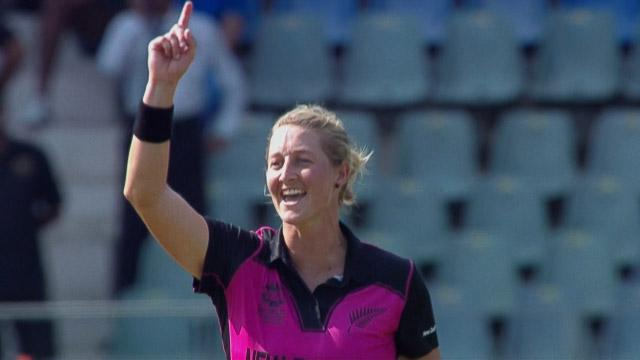 Sophie Devine 4-22 for WI v NZ Womens WT20 2016