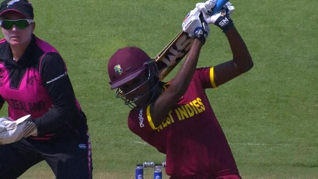 West Indies Innings Super Shots V NZ ICC Womens WT20 2016