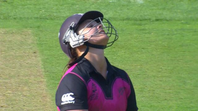 New Zealand wicket Losses v West Indies Video ICC Womens WT20 2016