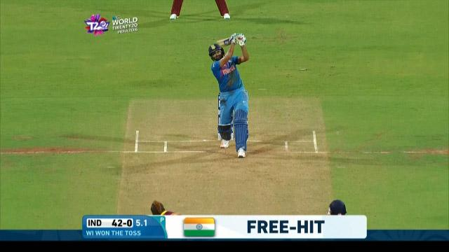 Rohit Sharma smashes massive back-to-back sixes