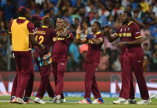 India wickets v West Indies - 2nd semi-final, WT20