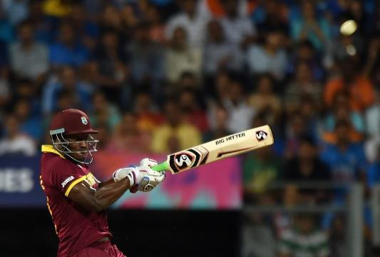 Russell and Simmons launch West Indies into WT20 final
