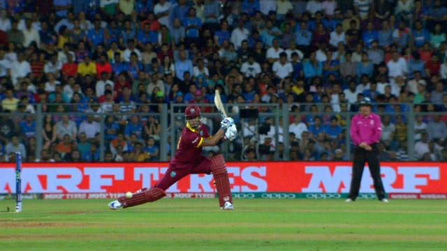 Lendl Simmons Innings for West Indies V India Video ICC WT20 2016