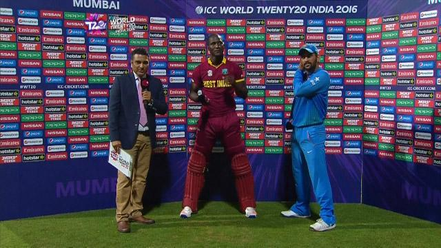 Match Presentation for WI V IND Match 34 ICC WT20 2016