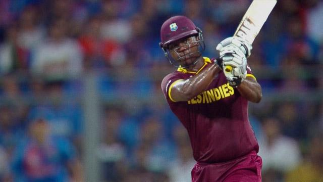 West Indies Innings Super Shots v IND ICC WT20 2016