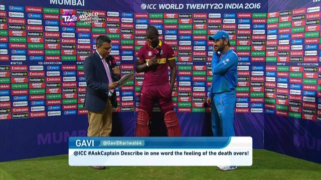 Sammy answers #AskCaptain after winning against India