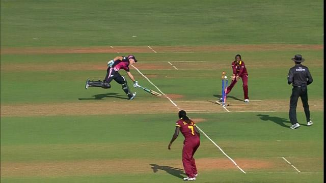 Dottin's outstanding run-out for West Indies Women