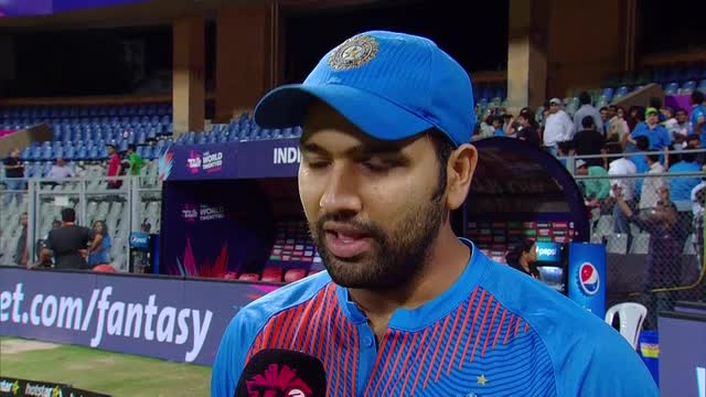 Rohit: 190 is a good score, but nowadays you never know