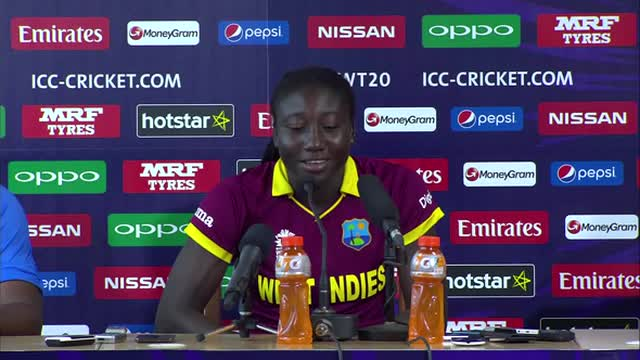 West Indies Women press conference, ICC World T20 final 2016