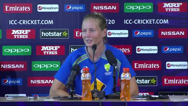 Australia Women press conference, ICC World T20 final 2016