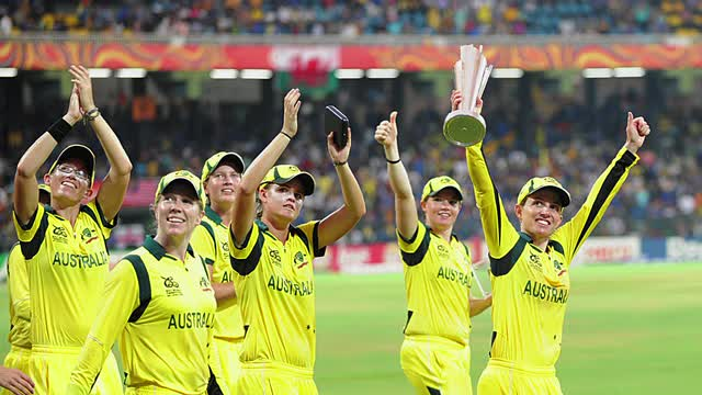 Australia Women - World T20 Final v WI Women