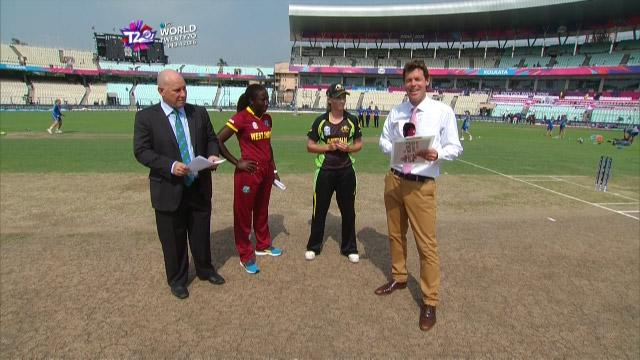 Australia wins Toss against West Indies Match 23 ICC Womens WT20 2016