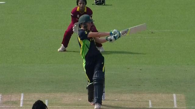 Australia Innings Super Shots V WI ICC Womens WT20 2016