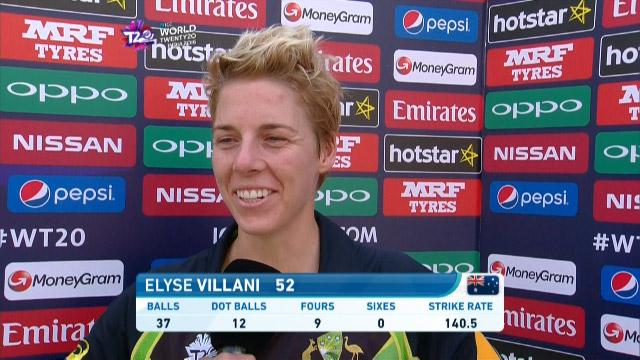 Elyse Villani Interview –  AUS v WI