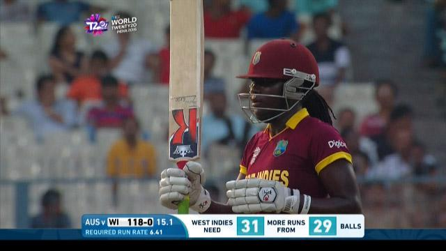 Stafanie Taylor Innings for West Indies V Australia Video ICC Womens WT20 2016