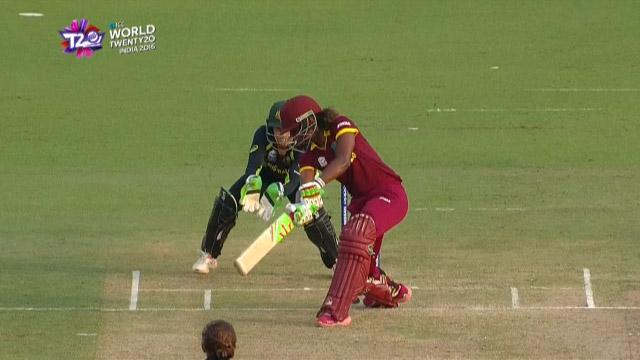 Cricket Highlights from West Indies Innings v Australia ICC Womens WT20 2016