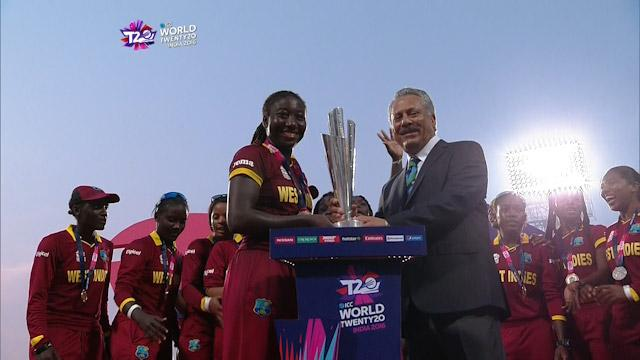 West Indies Women lift #WT20 Trophy