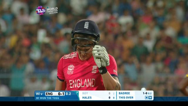 Jason Roy, 2nd ball duck in ICC WT20 final