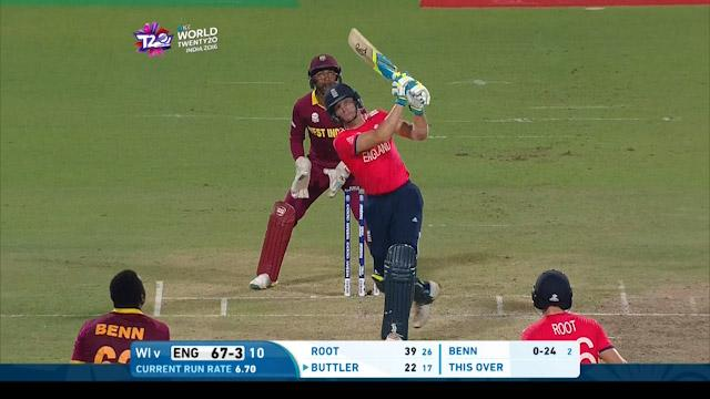 Buttler's back-to-back sixes in the WT20 final
