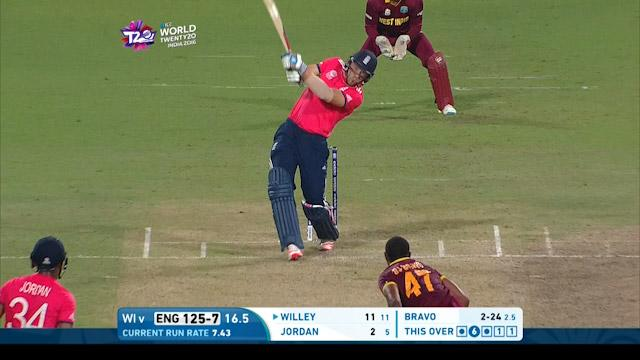 Willey smashes massive straight 6!