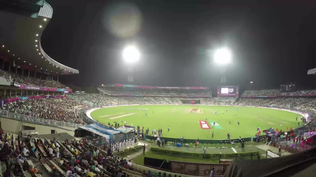 A timelapse of the ICC World T20 final