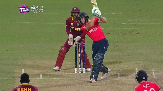 Cricket Highlights from England Innings v West Indies ICC WT20 2016
