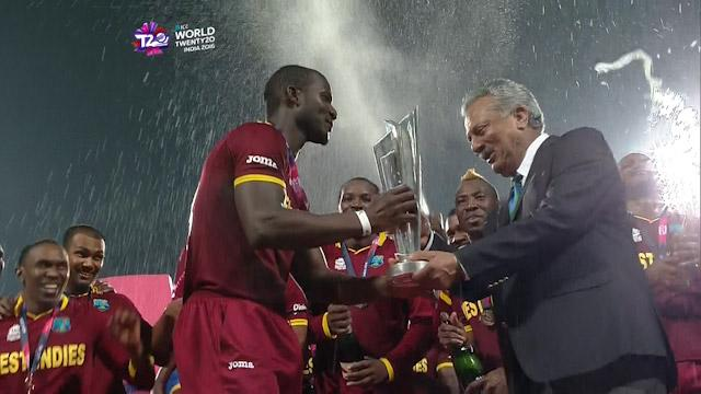 West Indies lift #WT20 Trophy